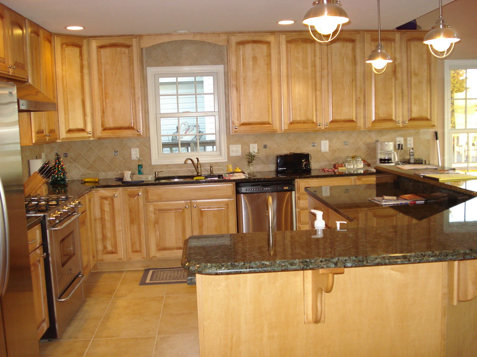 Lifetime design build inc completed projects for Redesign kitchen layout